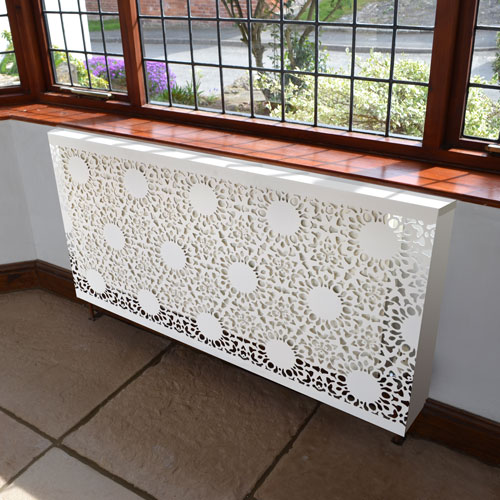 Nottingham Lace Radiator cabinet by Lace Furniture