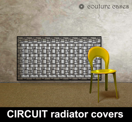 circuit-decorative-laser-cut-metal-radiator-covers-with-yellow-chair