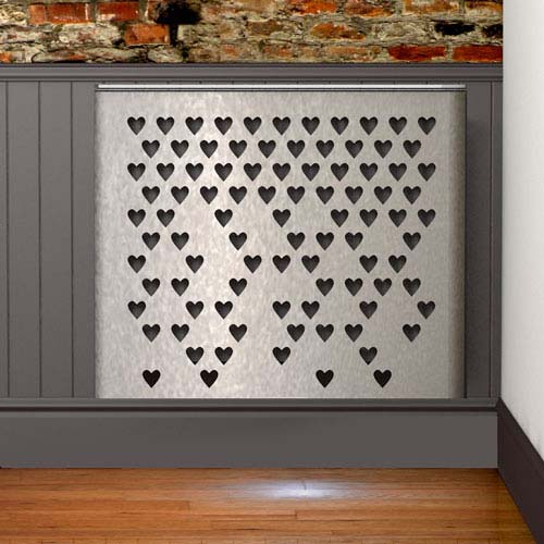 YOYO Hearts Fall Radiator Cover