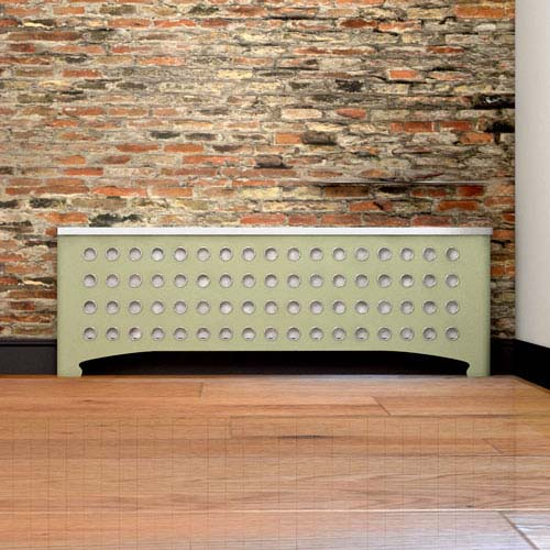 CASA with Nickel eyelets Radiator Cover