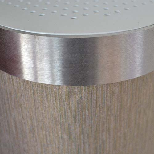Grey Grain Radiator Cover