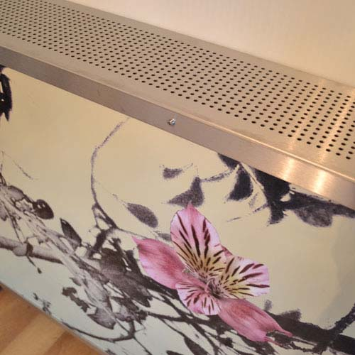 Emily Flowers 1 in room Radiator Cover