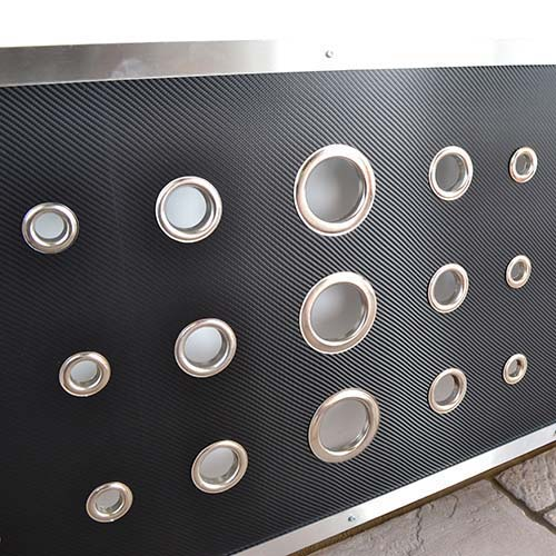 Deco Carbon Fibre Radiator Cover
