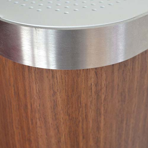 Dark Teak Radiator Cover