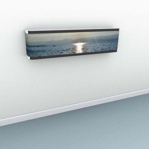 Your Photo Mantel Radiator Cover