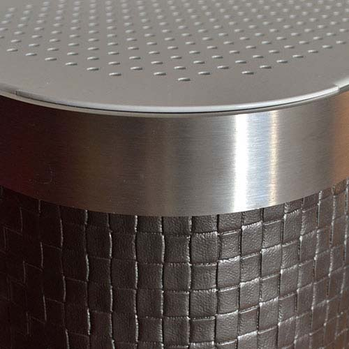 Lattice Graphite Radiator Cover