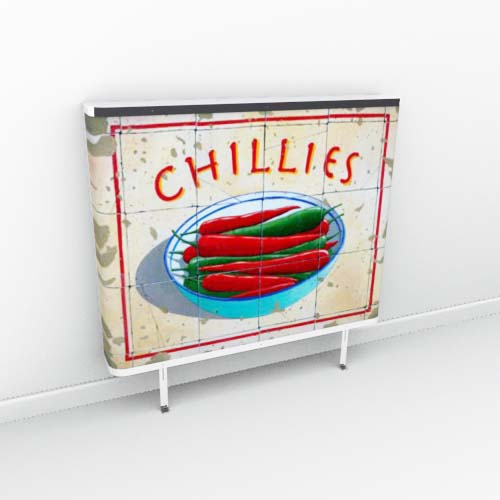 100's of Food & Drink images Radiator Cover