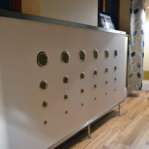 YOYO Deco White Radiator Cover