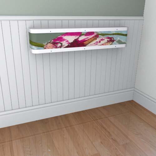 Emily Flowers 10 Mantel Radiator Cover