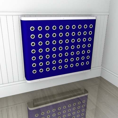 Indigo YOYO Colour Radiator Cover