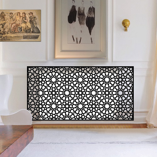 Islamic and Moroccan covers Radiator Cover