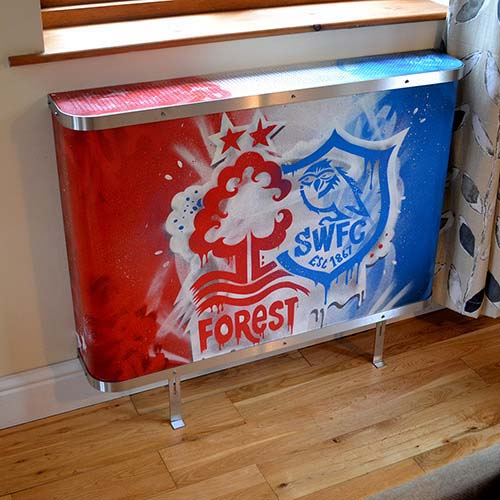 Our Latest Graffiti Cover Radiator Cover