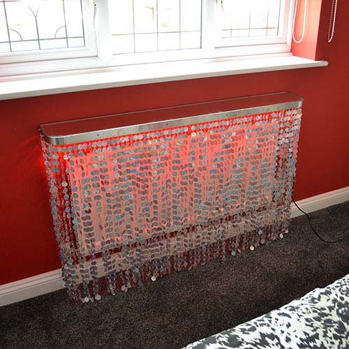 LUNA Silver hologram Radiator Cover