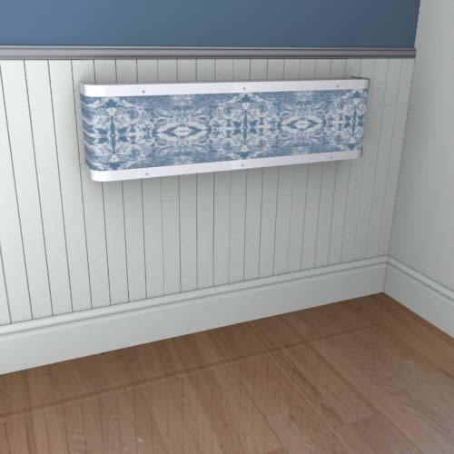 Iced Mirror Mantel 1 Radiator Cover