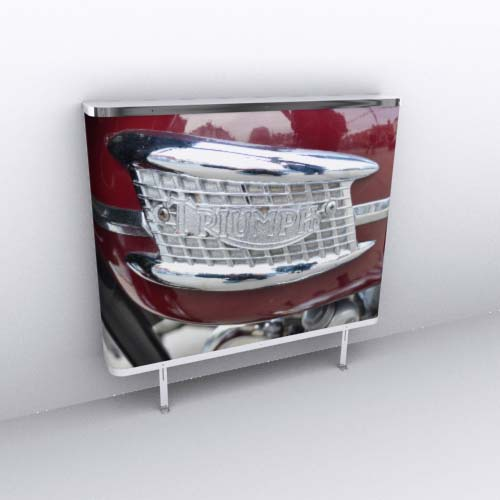 Triumph Bonneville Radiator Cover