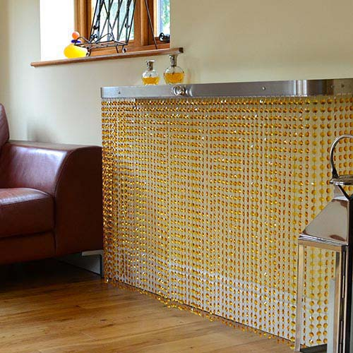 Shimmering Crystal Colour Covers Radiator Cover