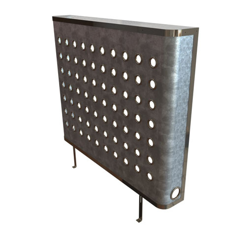 YOYO Galvanised radiator covers