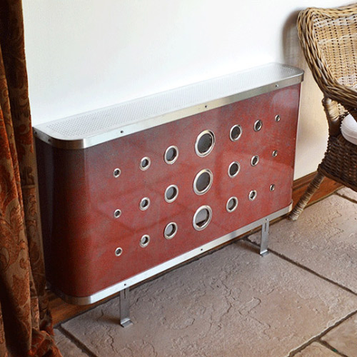 peter andre radiator covers in leather