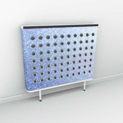 Lilac Sparkle Radiator Cover