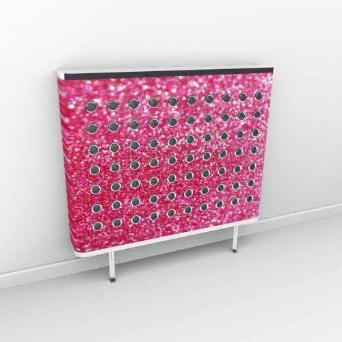 Raspberry Sparkle Radiator Cover
