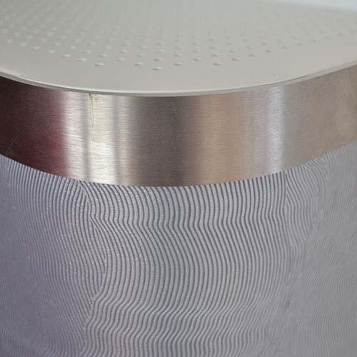 Grey Swirl Radiator Cover