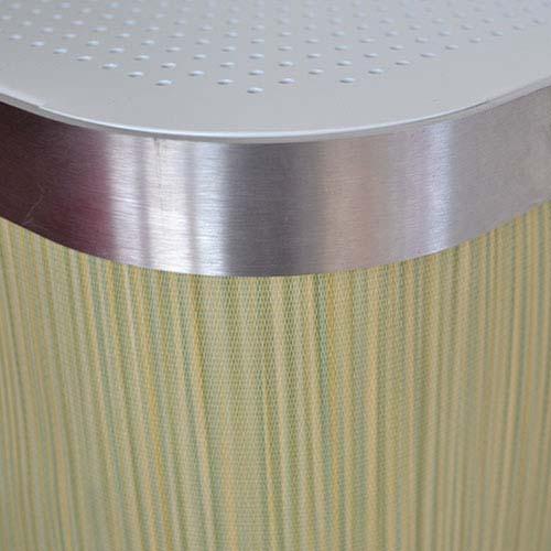 Elk Green stripe Radiator Cover