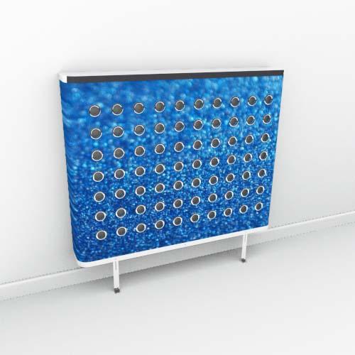 Navy Blue Sparkle Radiator Cover