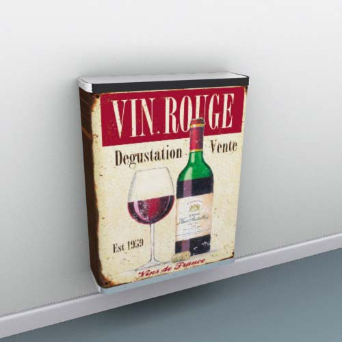 Lots of Wine images to suit every interior Radiator Cover