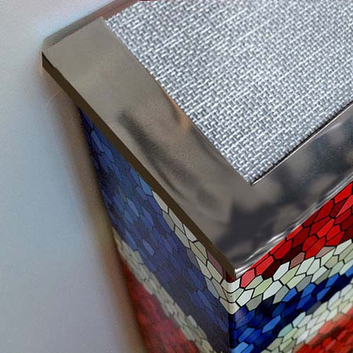 NEW Warehouse Metal tops Radiator Cover