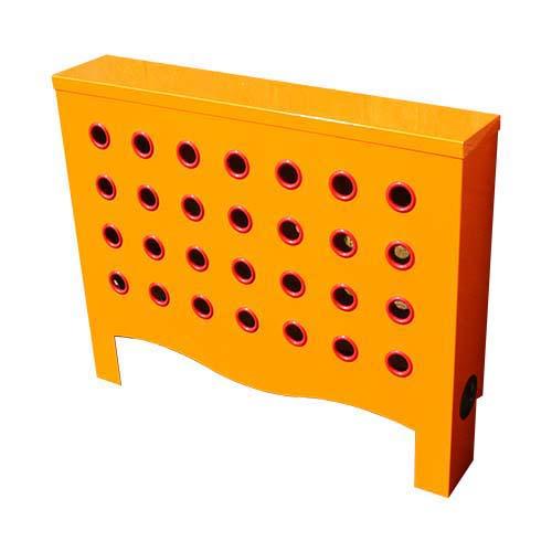 Warehouse Orange / Red Radiator Cover